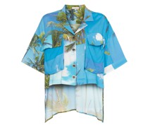Hemd mit Hawaii-Print