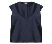 taffetta blouse