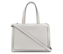 Handtasche mit doppeltem Reißverschluss