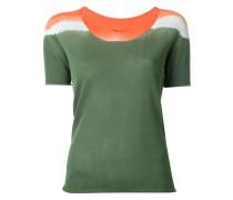 T-Shirt mit U-Boot-Ausschnitt