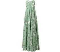 Abendkleid mit floralem Print