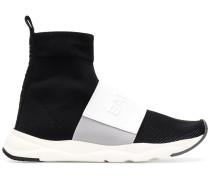 Sock-Sneakers mit Klettverschluss