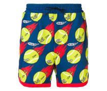 Badeshorts mit Tennisbällen