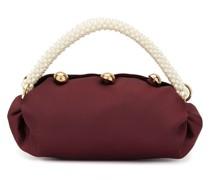 'Nino' Mini-Tasche mit Perlenhenkel