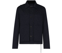 lace-up workwear jacket