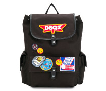 DSQ2 patch backpack