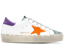 'Hi-Star' Sneakers in Distressed-Optik