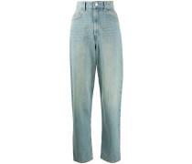 'Corsy' Jeans mit hohem Bund