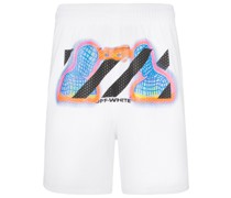 Shorts mit Thermo-Print
