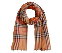 Two-tone Vintage Check Cotton Square Scarf