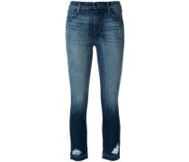 Ruby high rise cropped jeans
