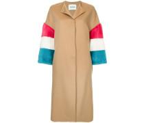 fur sleeve coat