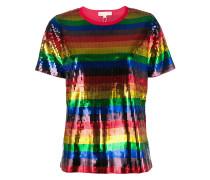 Rainbow pailette T-shirt