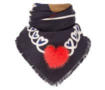 Touch Of Fur foulard scarf