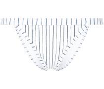 Tulum stripe Brazilian bikini bottoms