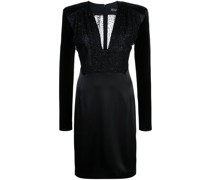 'Stam' Kleid mit schmalem Schnitt