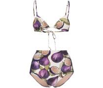 Bikinihöschen mit Feigen-Print