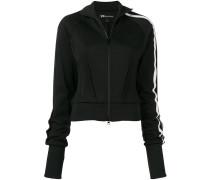 zip-front sports jacket