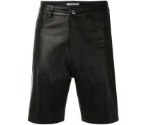 'Margot' Shorts aus Leder