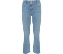 Le Crop Mini Boot rear triangle gusset jeans