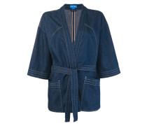 Jacke im Kimono-Look