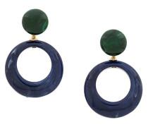 'Ischia' Ohrringe mit rundem Anhänger