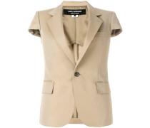 short sleeved blazer