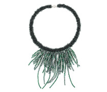 multi string beaded necklace