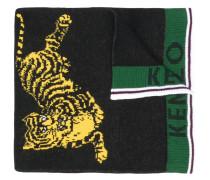 front logo tiger scarf