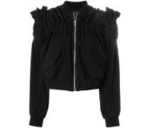 structured bomber jacket