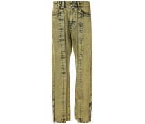 Ausgeblichene Jeans