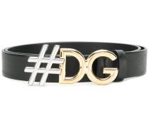 Gürtel mit '#DG'-Schnalle