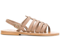 open toe cage sandals