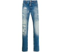 Jeans in Stone-Wash-Optik