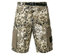 'Alligator' Shorts mit Camouflage-Print