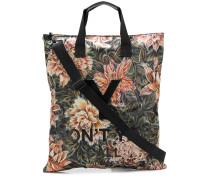 Schultertasche mit floralem Design