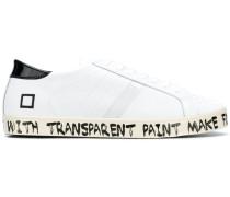 D.A.T.E. Sneakers mit Slogan-Print