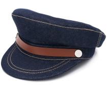 Jeans-Schiebermütze