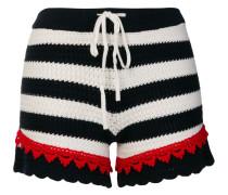 Gestreifte 'Quinoa' Shorts