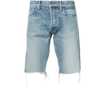 distressed style shorts