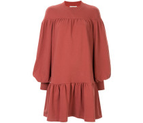 Drapiertes Oversized-Kleid
