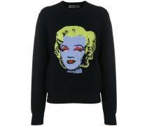 "Sweatshirt mit ""Marilyn Monroe""-Print"
