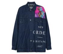'New Order' Jeansjacke