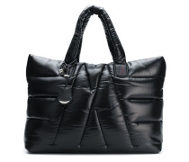 oversized padded tote bag
