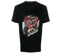 'Speed' T-Shirt mit Print