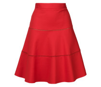 A-line flared skirt