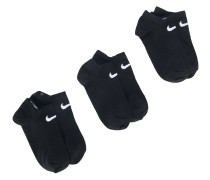 pack of three No Show socks