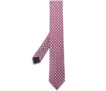 Krawatte mit Blumen-Print