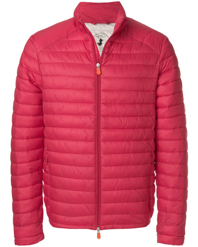 round neck padded jacket