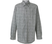 houndstooth check shirt